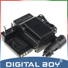 Menino digitais (5 pçs/set) 2 pcs np120 np-120 np 120 li-ion bateria camera + charger + carregador de carro para fujifilm finepix f11 m603 finepix z1