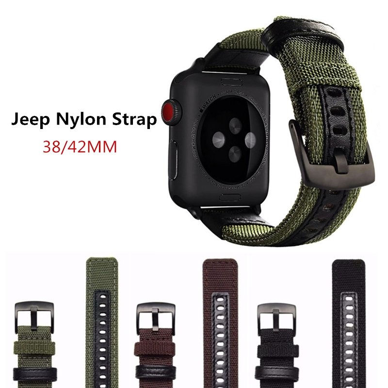 Sport Loop Band Strap For Apple Watch 1/2/3 iWatch 38mm 42mm Wrist Bracelet Belt Woven Nylon Watchband+Adjustable Hook Clasp все цены