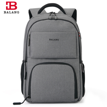 Balang New Men Backpack Laptop Backpack For 15.6 inches Large Capacity Stundet Backpack Casual Style Bag Water Repellent