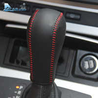 Airspeed Leather Car Gear Shift Lever Cover Handbrake Grips Sleeve for BMW E60 E90 X3 X5 Z4 6 Series Accessories Car Styling