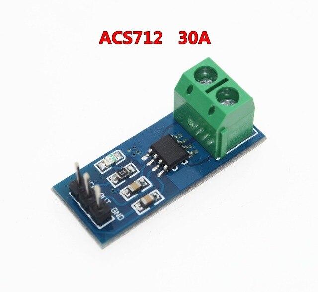 Free Shipping Hot Sale ACS712 30A Range Hall Current Sensor Module ACS712 Module