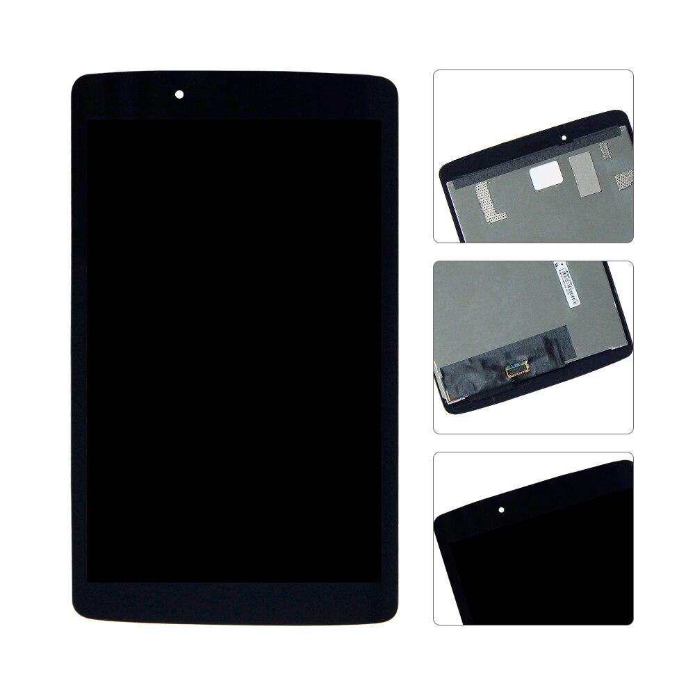 Pour LG G Pad 8.0 V480 V490 LCD Affichage Matrice Écran Tactile Numériseur Capteur En Verre Tablet Assemblée Remplacement