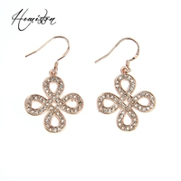 Thomas Style Rose Gold Love Knot Earring In 925 Sterling Silver From Glam Soul Collection European