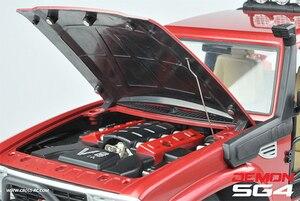 Image 3 - CROSS RC 1/10 kit SG4 4X4 4WD DEMON Rock Scale Crawler ABS Hard Body with Metal Axles sports crawler