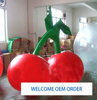 1pc 1m Cherry fruit inflatable model Inflatable Cherry Balloon for your advertisement