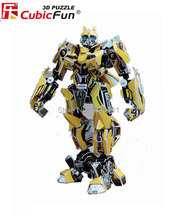 Bumblebee CubicFun 3D educational puzzle Paper & EPS Model Papercraft Home Adornment for christmas gift