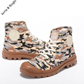 Men's Summer Camouflage Canvas Boot Outdoor Combat Military Jungle Boots Hiking/Trekking Shoes