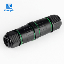 Waterproof Connector 3 pin IP68 3-7mm 250V&10A Electrical Sealed Retardant Junct