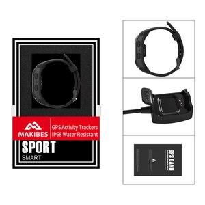 Image 5 - Livre shippingG03 Plus Tela Colorida Pulseira IP68 Rastreador GPS À Prova D Água Dos Homens De Fitness Banda Inteligente pulseira relógios para Android ios