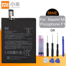 Xiao Mi Original Phone Battery BM4E For Xiaomi Pocophone F1 Poco F1T 3900mAh Replacement Authentic Li-ion Batteries Free Tools