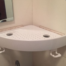 Новая защелкивающаяся угловая полка для ванной комнаты настенный угловой держатель для хранения стойки не маркировочная полка с крючками легко установить