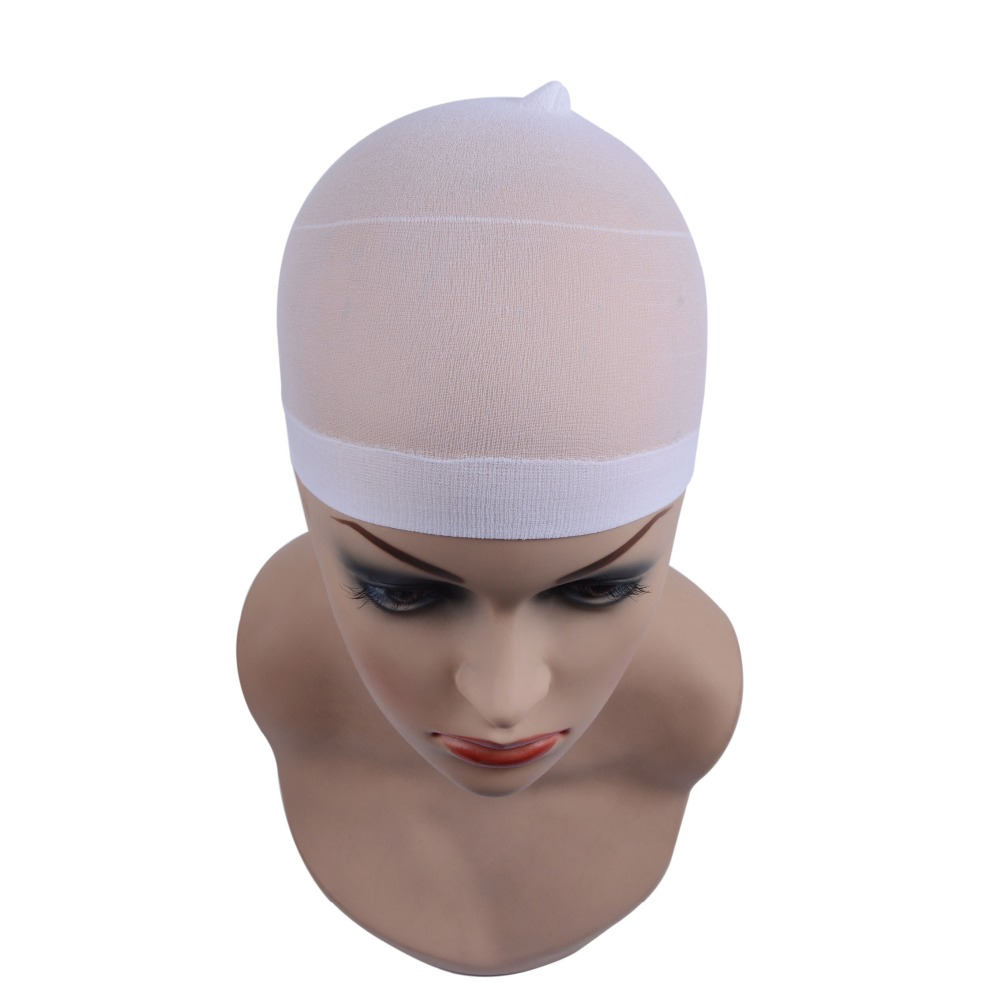 2 Pieces/Pack Wig Cap Hair net for Weave Hairnets Wig Nets Stretch Mesh Wig Cap for Making Wigs Free Size 4