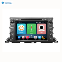 Yessun Per Toyota Highlander 2014 ~ 2017 Android Car Audio Multimediale Video Radio Navigazione GPS HD Touch Screen Lettore Stereo.