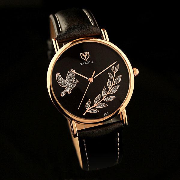 YAZOLE 2017 Wrist Watch Women Ladies Brand Famous Female Wristwatch Clock Quartz Watch Girls For Montre Femme Relogio Feminino splendid brand new boys girls students time clock electronic digital lcd wrist sport watch