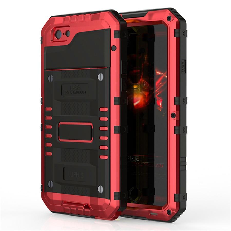 Luphie Warwolf IP68 Case for iphone 8 8plus Անջրանցիկ - Բջջային հեռախոսի պարագաներ և պահեստամասեր - Լուսանկար 2