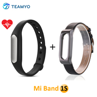 Original Xiaomi Mi Band 1S Bluetooth Smart Band Miband Fitness Bracelet Wristband For IOS Android Heart Rate Monitor Tracker