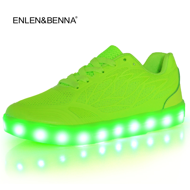 2016 women light up led luminous shoes recharge for adults neon basket color glowing casual fashion with new simulation sole стоимость