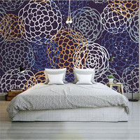Nordic Style 3D Wallpapers Prickly Pear Wall Stickers Hand Painted Kids Wall Papers Simple Wall Papers for Children Room