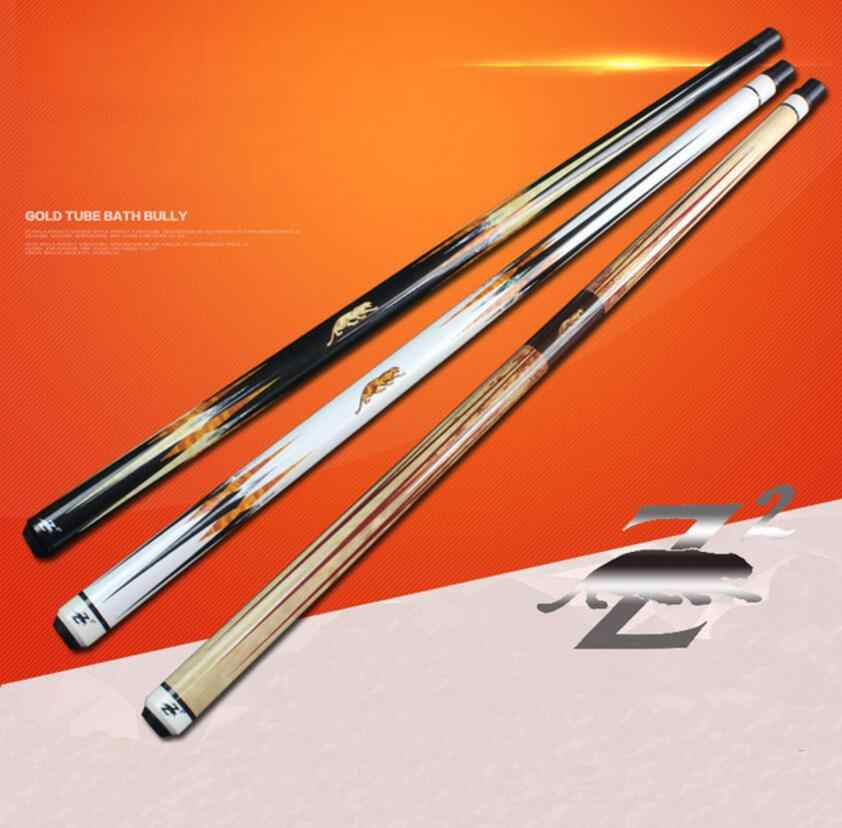 PREOAIDR 3142 Z2 Billiard Pool Cue Stick 13mm/11.5mm Tip Black/White/Orange Color Stick Billiard Cue Kit Pool Cue Kit Nine Ball