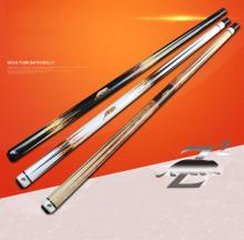 PREOAIDR 3142 Z2 Billiard Pool Cue Stick 13mm/11.5mm Tip Black/White/Orange Color Kit Nine Ball