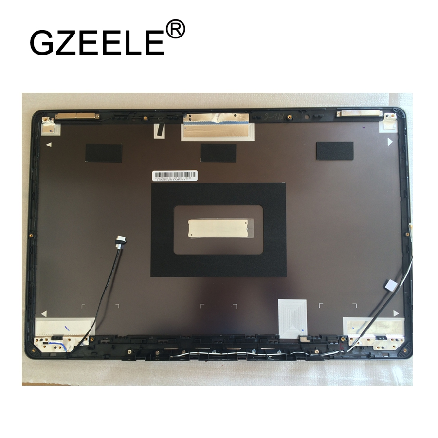 GZEELE NEW laptop top lcd Cover For ASUS N750 N750JV laptop lcd sreen back cover top case black A cover shell PN : 13N0-PTA0A11 new laptop for toshiba satellite p55t a5202 p55t a5118 lcd back top cover fit touchscreen a shell