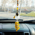 New Lucky Charm Car Pendant car-styling Car Rear View Mirror Hanging Ornaments Car Interior Decoration Calabash Auto Accessories