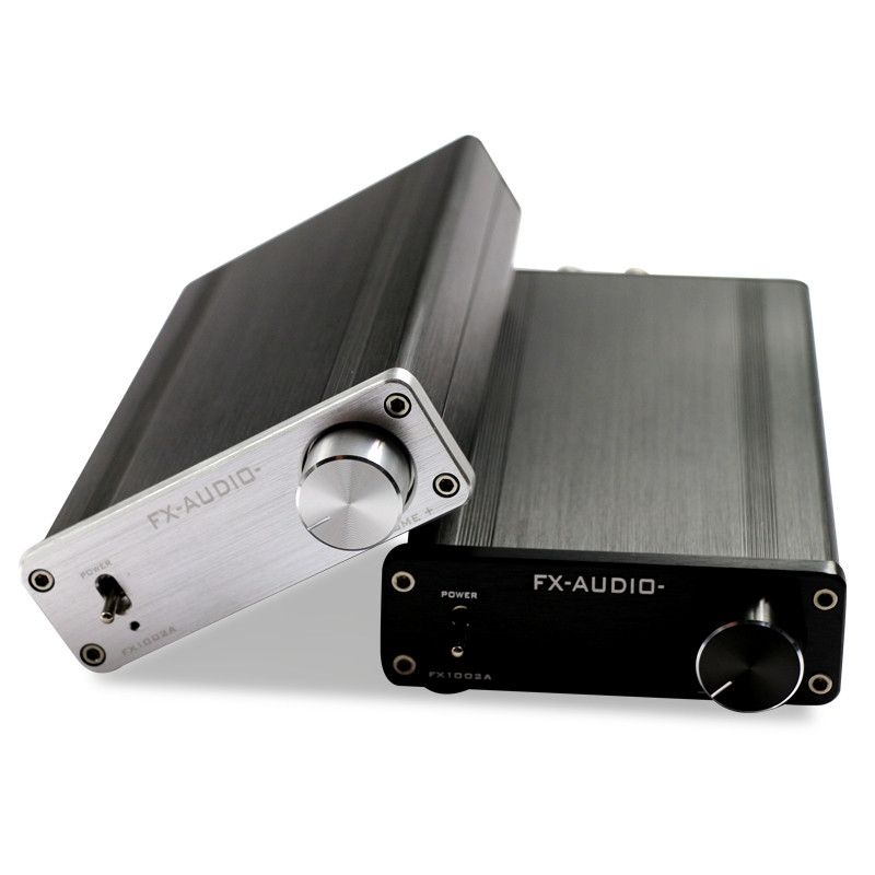 FX-Audio FX1002A 160W*2 TDA7498E Hifi 2.0 Pure Digital Audio Power Amplifier Mini Home Amplifier Aluminum Enclosure hifi amplifier digital bluetooth 4 0 audio amp 160w 160w support u disk sd ape fx m 160e white black