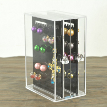 Hot selling Acrylic Drawer Design Jewelry Box High Quality Earring Storage Organizer Pendant Locket Stand Case