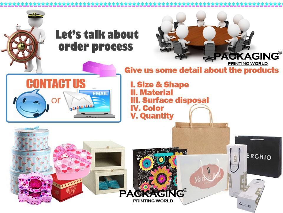 4 paper bag gift box customer
