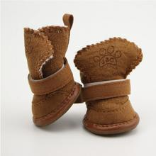 Dog Shoes For Winter Non-Slip