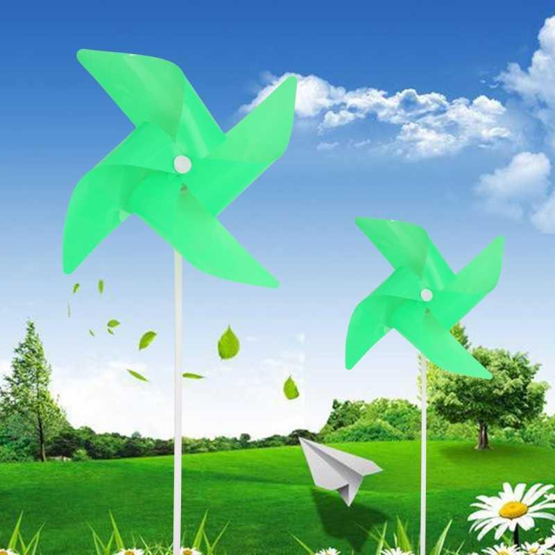 Светящаяся ветряная мельница, ветряная вертушка, садовые украшения, Декор, детские игрушки, подарок на открытом воздухе