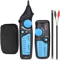 Network Ethernet Cable LAN Tester Tracker Phone RJ45 RJ11 Telephone Wire USB Cable Analyzer Detector Line Finder Tools MS6812