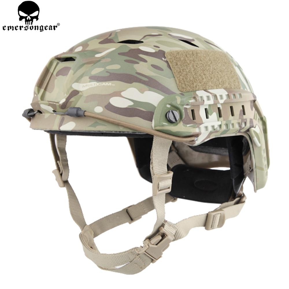 EMERSONGEAR BJ Type Fast Helmet Protective Adjustable Helmet Combat Hunting Wargame Hiking Cycling Helmet EM5659