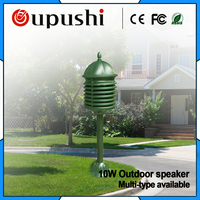 20w Waterproof pa speaker for garden, square Lighthouse lawn sound