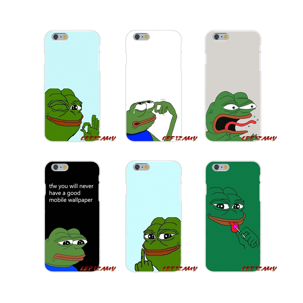 For Samsung Galaxy A3 A5 A7 J1 J2 J3 J5 J7 2015 2016 2017 Memes Sad Frog Accessories Phone Cases Covers image