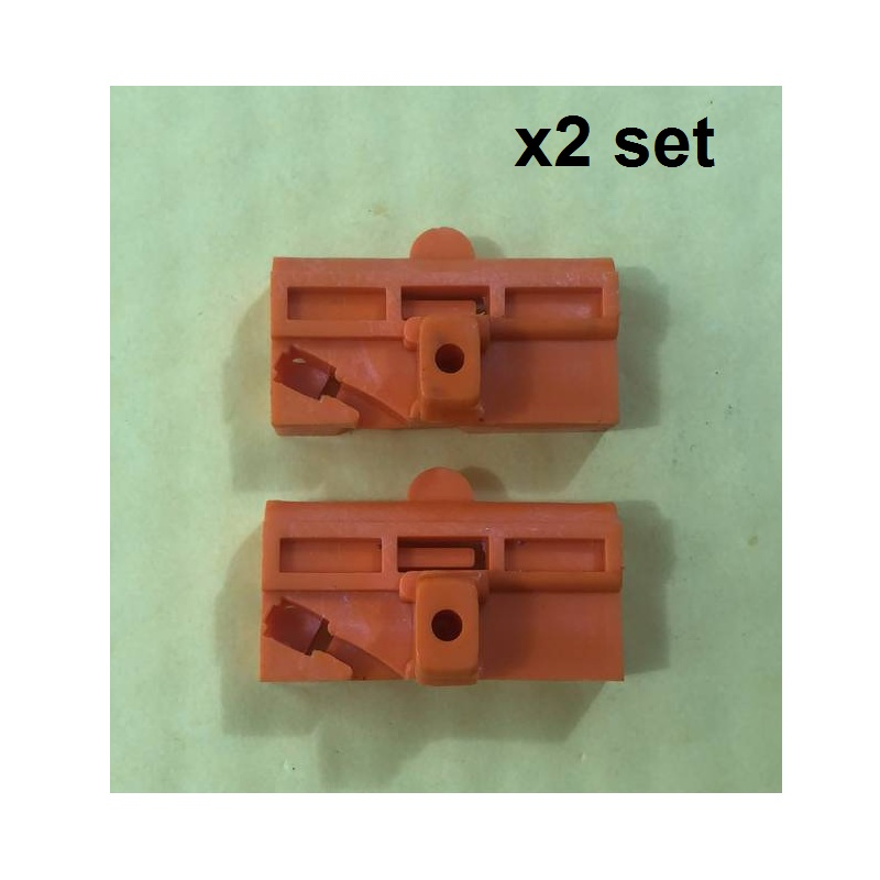 X2 Set(4 Pcs) Clips Slider Window Regulator Repair Kit For Mercedes Vito Viano W639 Front Left 2003-2015