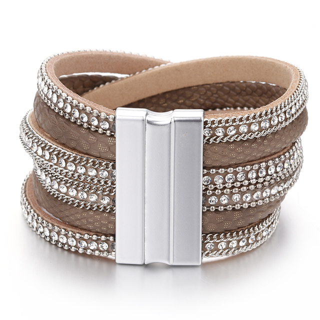 Exquisite Leather Bracelet for Women