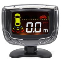 Ouchuangbo Car LCD Parking Sensor Radar Monitor System 8 Sensors Reverse Assistance Auto Parktronic