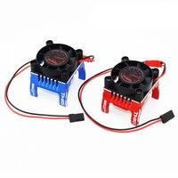 1PC TMXS 42MM Motor Cooling Fan Bracket D42mm DC 5V 9V Motor Radiator Heat Sink for RC Cars 1515 4274 4268 Motor