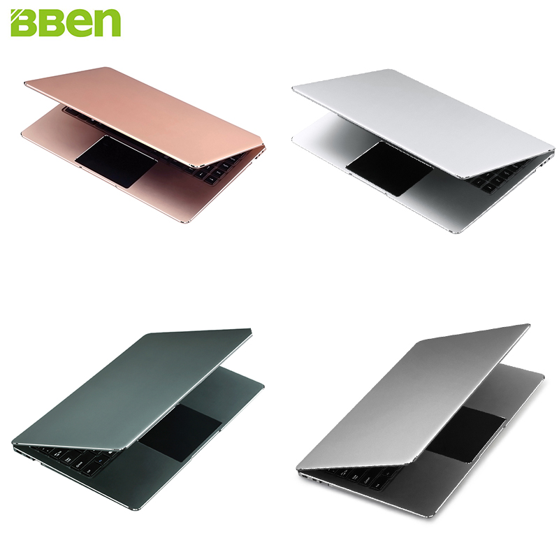 BBEN N14W 14.1'' Laptop Windows 10 Intel Celeron N3450 Quad Core 4GB RAM 64G ROM TypeC WiFi BT4.0 Ultrabook Netbook 4 Color