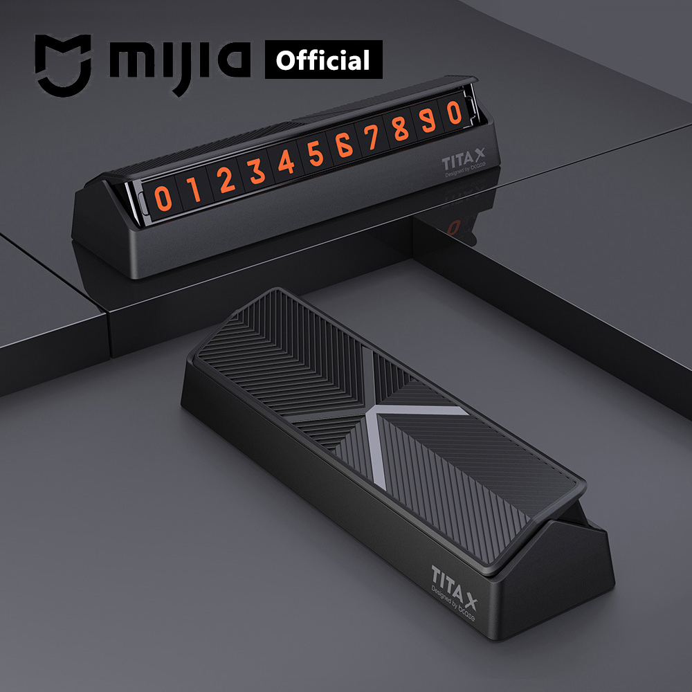 Xiaomi Mijia TITA Temporary Parking Card Universal Car Phone Number Card Auto accessories Stop Parking Sign Notice Number CardXiaomi Mijia TITA Temporary Parking Card Universal Car Phone Number Card Auto accessories Stop Parking Sign Notice Number Card