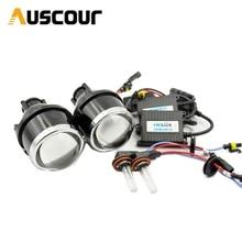 3.0 inch H11 Fog Lights Bi Xenon Projector Lens for Ford Mazada Mitsubishi Pajero Subaru Citroen Nissan universal headlight DIY