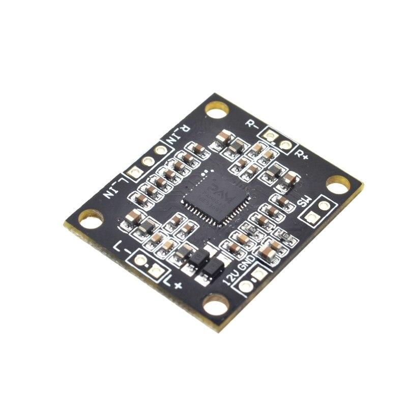 10 pces pam8610 placa de amplificador de potência digital 2x15 w duplo canal estéreo mini classe d placa de amplificador de potência