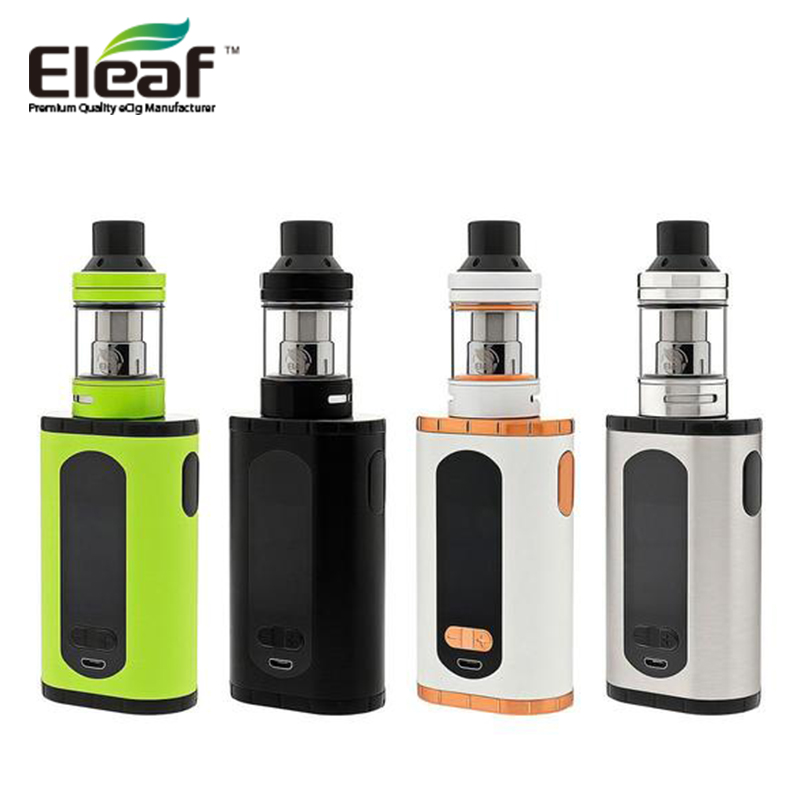 Electronic Cigarett Eleaf Invoke Vape TC Starter kit with 220W Invoke Box Mod and 2ml ELLO T Atomizer Tank No Battery Vaporizer original eleaf invoke 220w with ello t tc kit with 2ml ello t tank extendable to 4ml