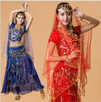 6 Color Belly Dancing Clothes Indian Dance Costume for Performance Stage Wear Women Dance Dress Stage & Dance Wear