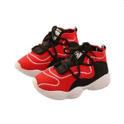 Лидер продаж, детская спортивная обувь, модная дышащая сетчатая обувь для бега, детская повседневная обувь, Классные кроссовки для