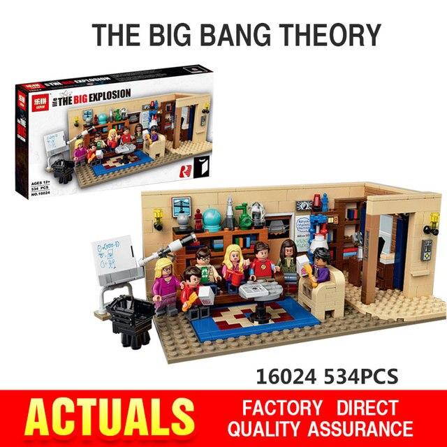 NUEVA Lepin 16024 534 Unids IDEAS Serie El Big Bang Set Educativos Building Blocks Ladrillos Compatible Niños Juguetes de Regalo 21302