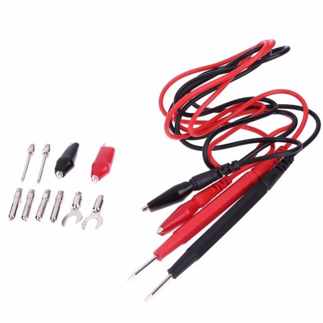 16pcs/Set Universal Digital Multimeter Probe Test Lead Cable Wire ...