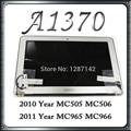 Original New LCD Screen Display Complete Assembly for Apple MacBook Air 11'' A1370 A1465 MC505 MC506 MC968 MC966 2010 2011 6 Pin