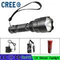 Z40 Новый Высокой Мощности 3800 Люмен 5 Режим CREE XM-L T6 LED С8 Фонарик Факел Лампы Свет Супер Яркий светодиодный свет используйте 18650 батареи